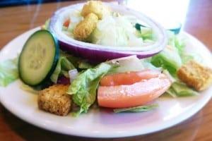 A side house salad