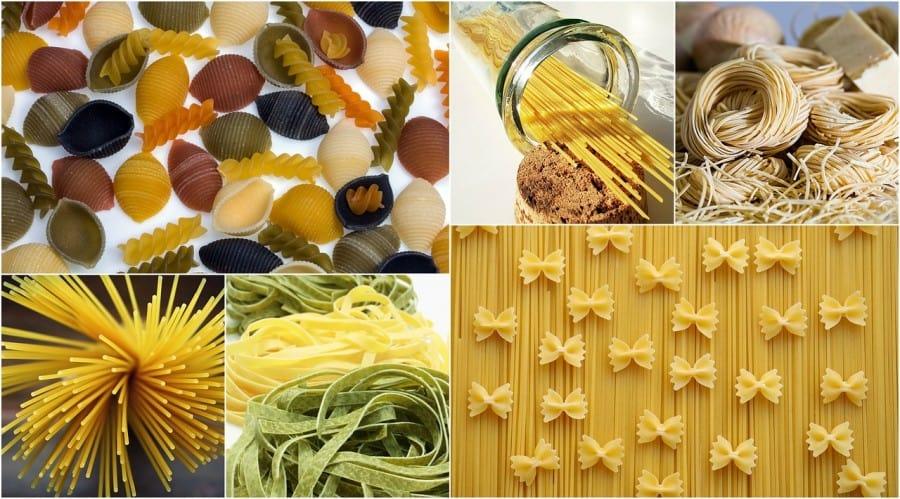 Amazingly Different Types of Pasta