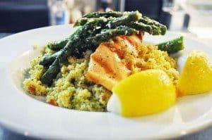 A premium seafood plate