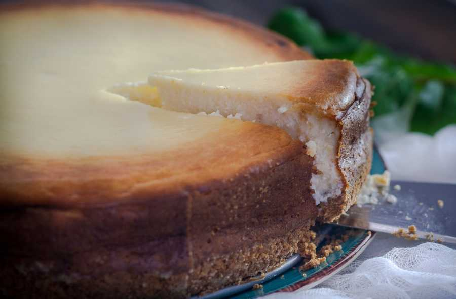 Cheesecake The Italian Way